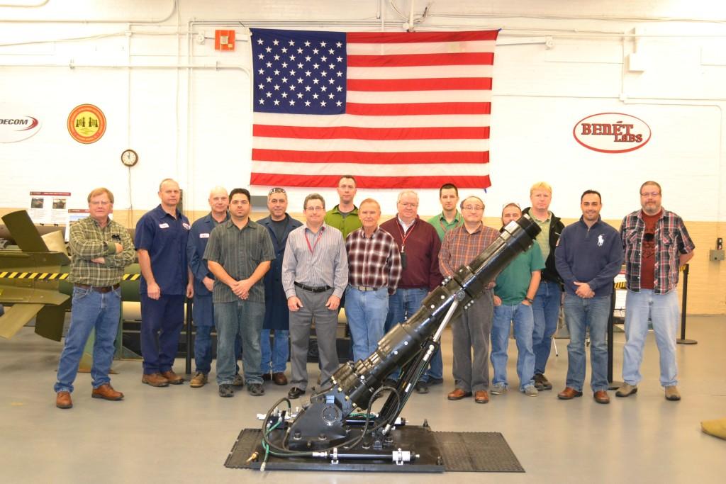 U S Army 120mm Mortar : Army s benét laboratories develops mm mortar test