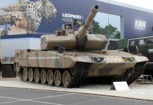 Leopard 2A7+ as seen on the Eurosatory