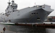 France's second Russian-bought warship tested at sea