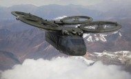 An artist's conception of future Army rotorcraft is shown.