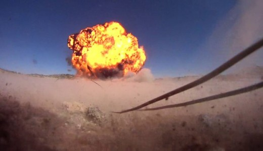 US Troops destroy 75,000 pounds of explosives in New Mexico