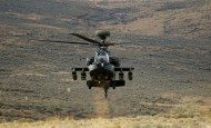 Soldiers, from the 1-229th Attack Reconnaissance Battalion on Joint Base Lewis-McChord, Wash., became the first in the Army to field the latest version of the AH-64 Apache attack helicopter, Feb. 21, 2013.