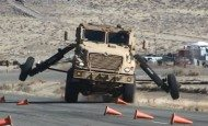 A brand-new Mine Resistant Ambush Protected feature - the first of its kind for the Army - will help maximize warfighter safety and survivability. MRAPs are the first vehicles outfitted with electronic stability control. Electronic stability control could also be an enabler for future fully autonomous vehicles.