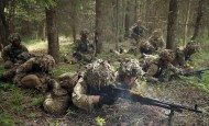 NATO Rapid Reaction Force Trains In Poland