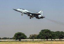JF-17 thunder fighter jet