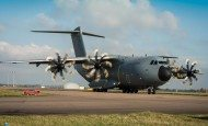 Latest A400M Transport Aircraft Is Delivered to the Royal Air Force