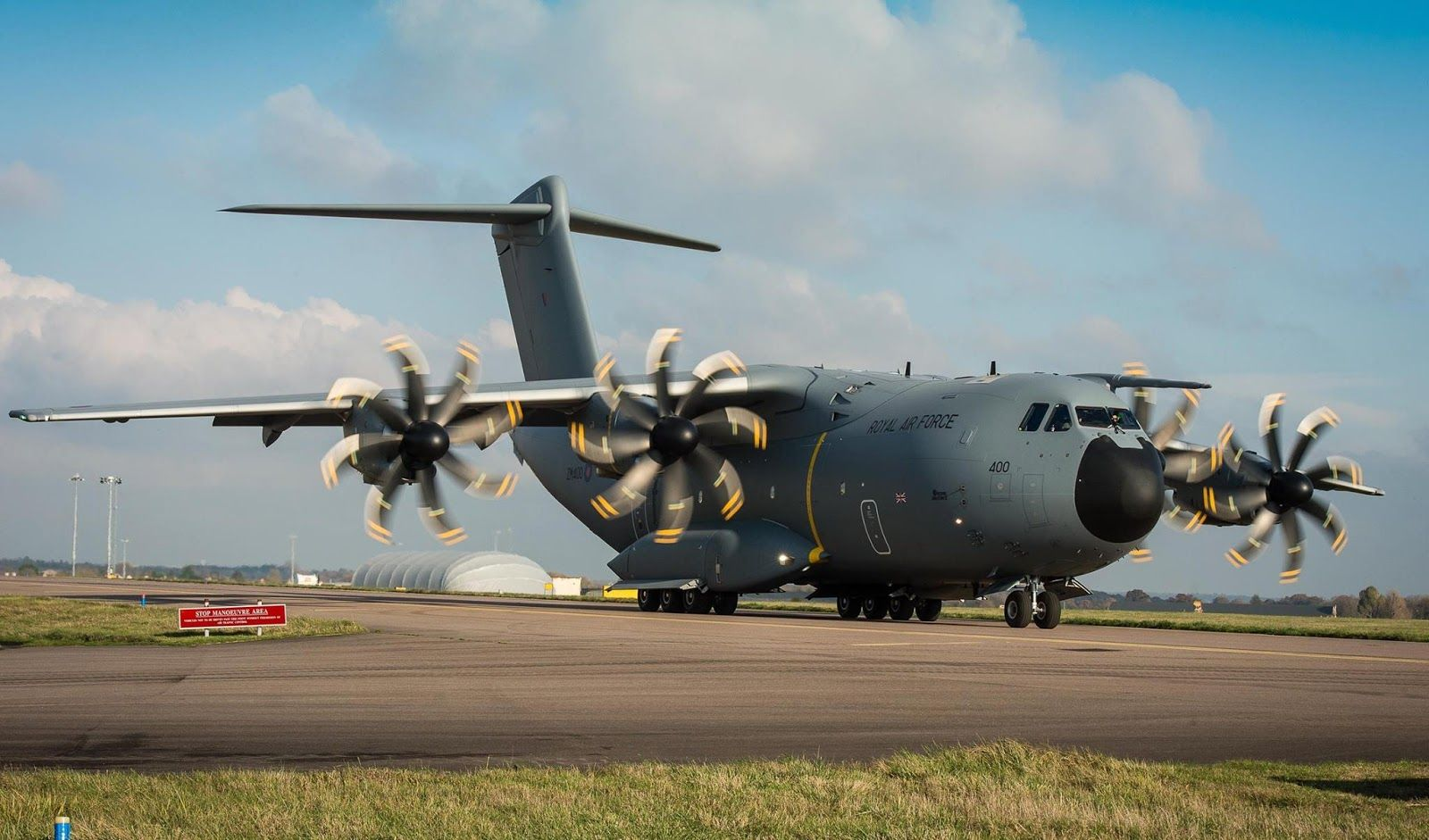 Latest A400m Transport Aircraft Is Delivered To The Royal Air Force 64821