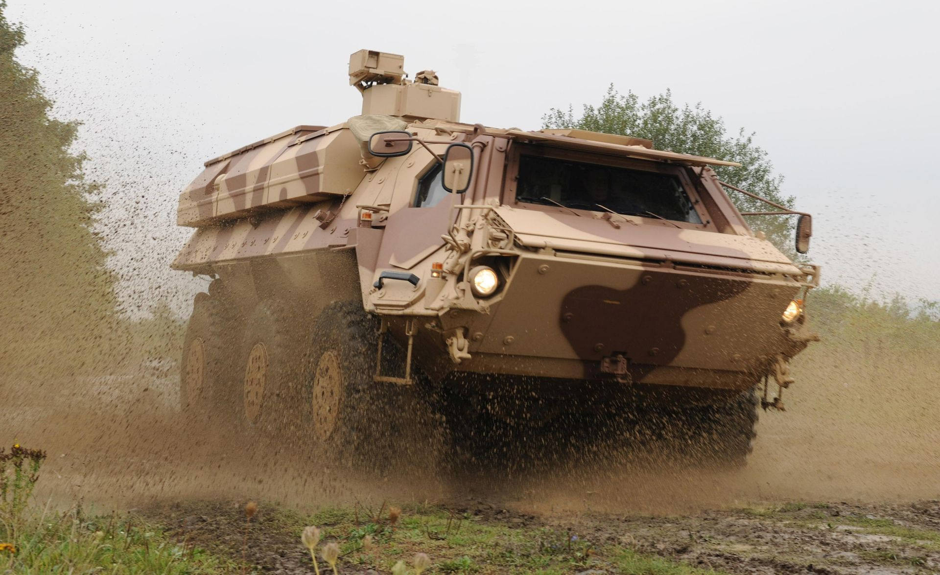 Rheinmetall's Fox NBC reconnaissance vehicle