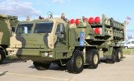50P6 missile launcher of S-350E missile system