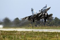 French Air Force Mirage 2000 jet fighter