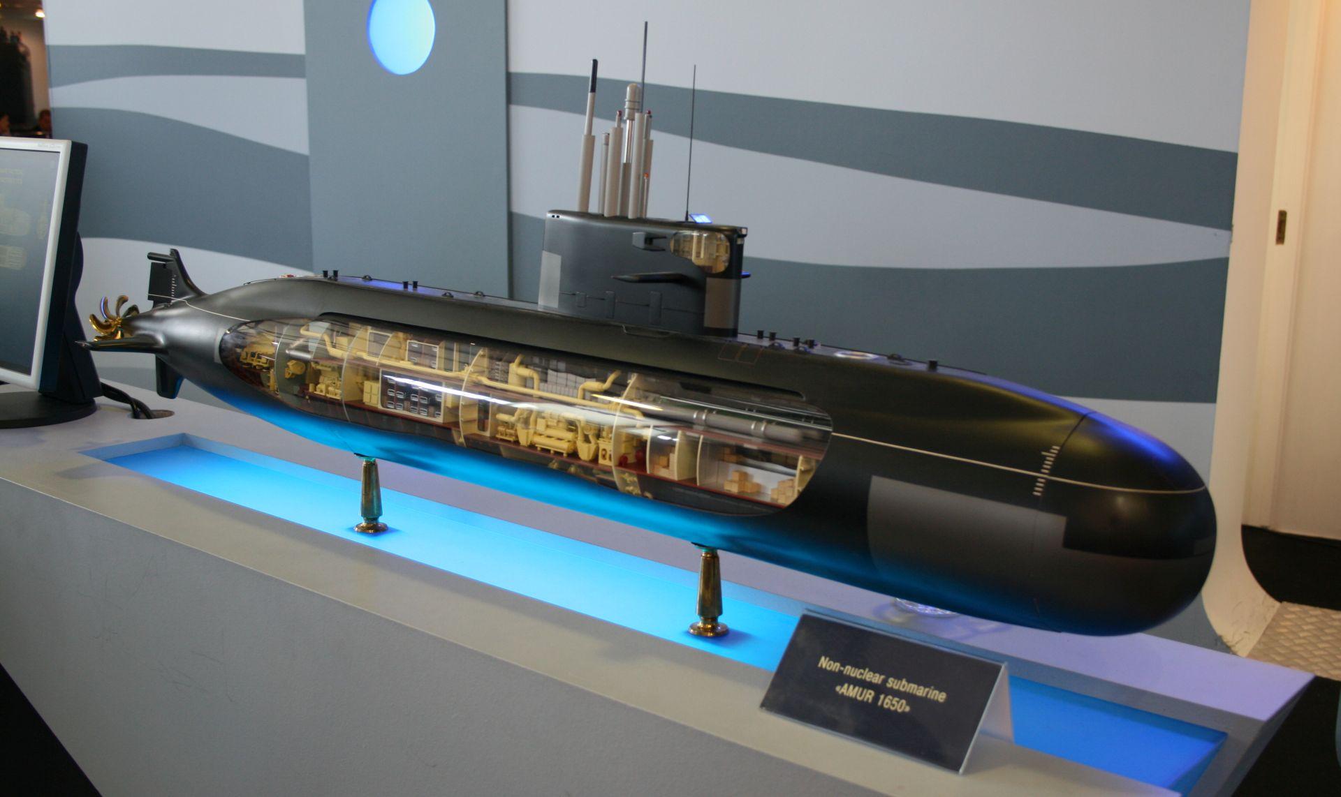 Amur-1650 class submarine