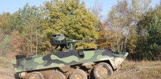 Czech Army Testing Pandur II AFV