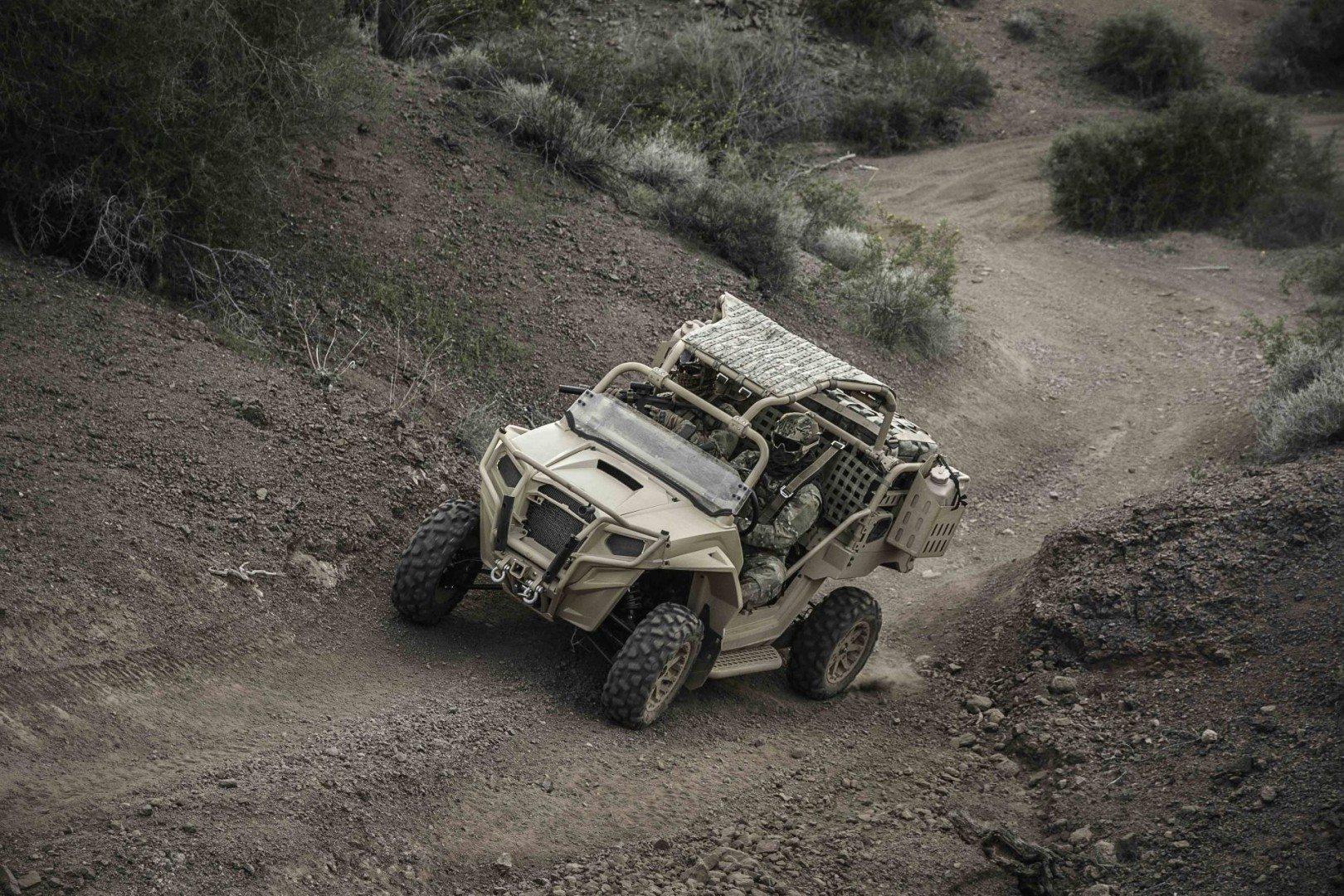MRZR 2, Polaris Defense
