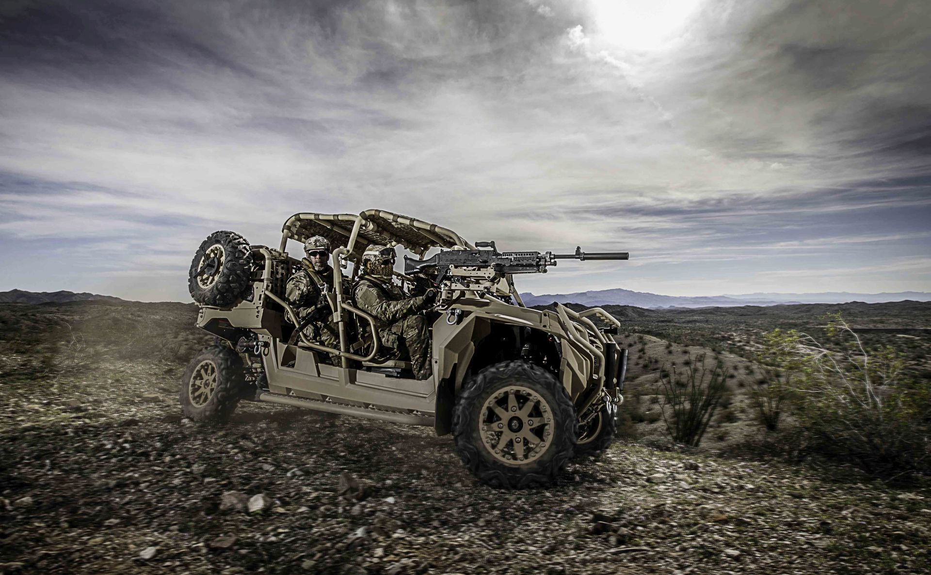 Polaris Delivering Off Road Vehicles To Ussocom At