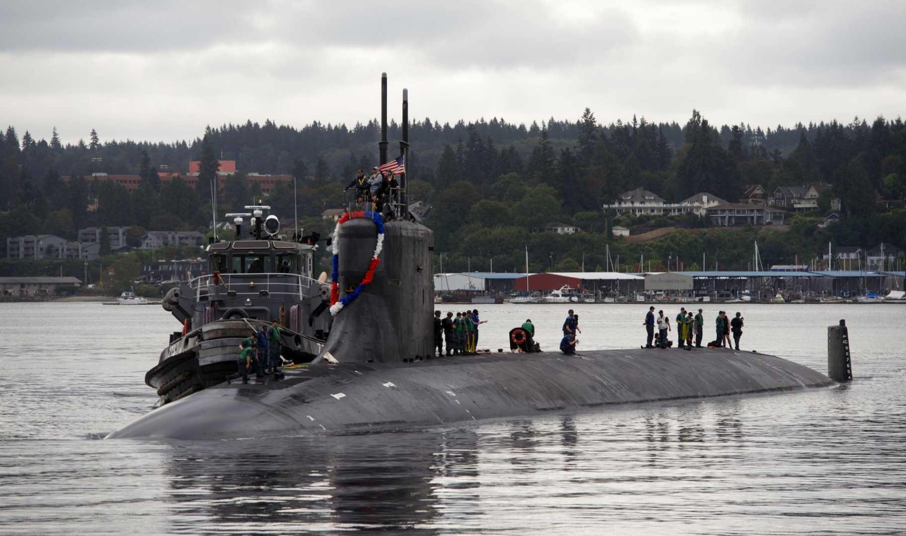 fast-attack submarine USS Seawolf (SSN 21)