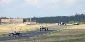 F-22 Raptor Fighter Jets