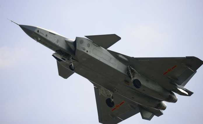J-20 Stealth Fighter Aircraft