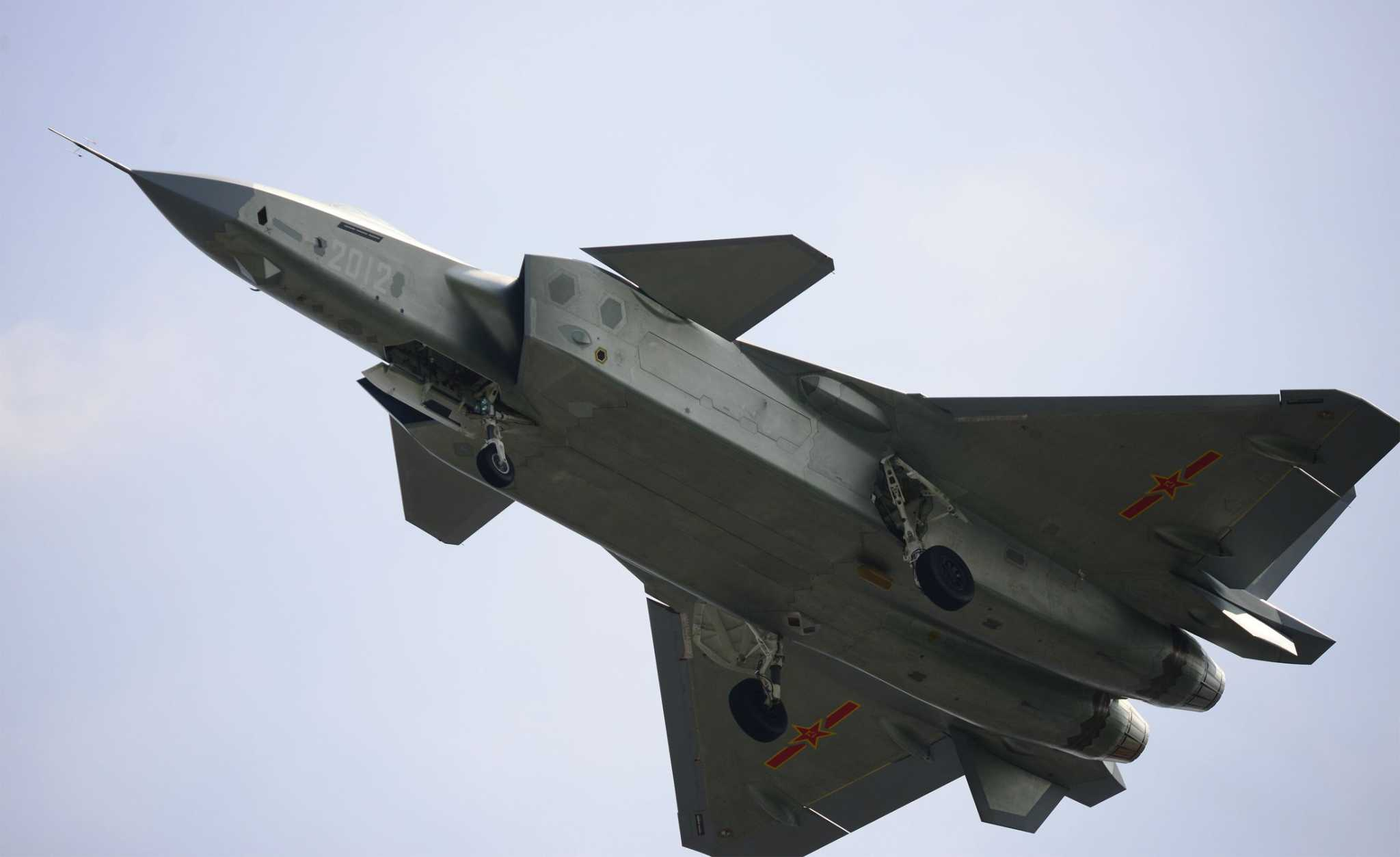 New J-20 Stealth Fighter Prototype Undergoes Flight Tests ...
