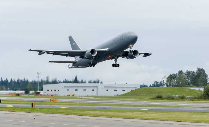 KC-46A Pegasus First Flight