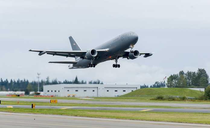 KC-46A Pegasus First Flight