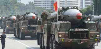 North Korea's Nodong missiles