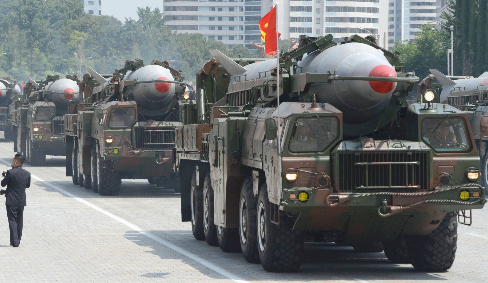 North Korea's Nodong missiles