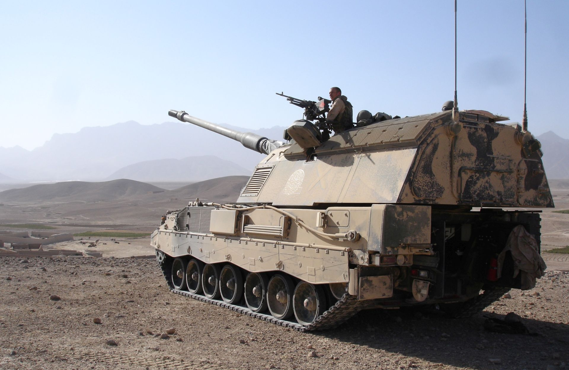 PzH2000 Self-Propelled Howitzer