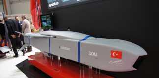SOM cruise missile mockup