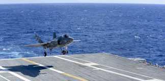 F-35C Lightning II carrier variant joint strike fighter