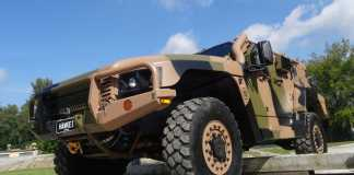 Hawkei Armored Vehicle