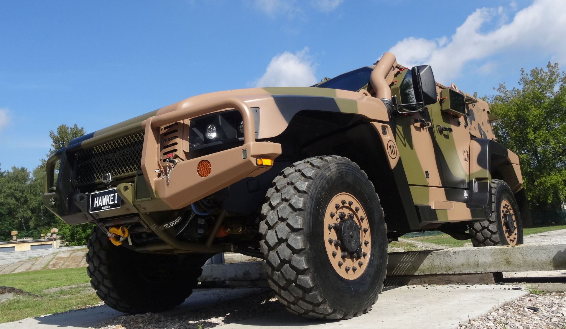 Hawkei Armored Vehicle