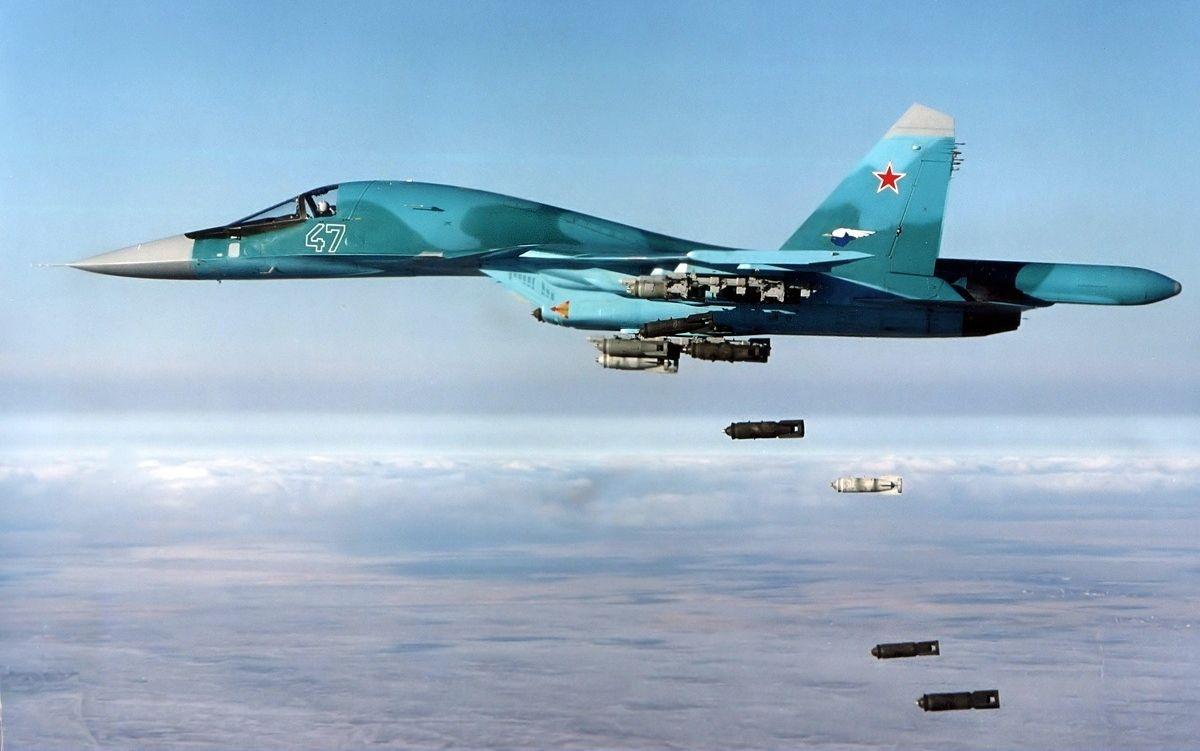 Sukhoi Su-34 Fighter Jet