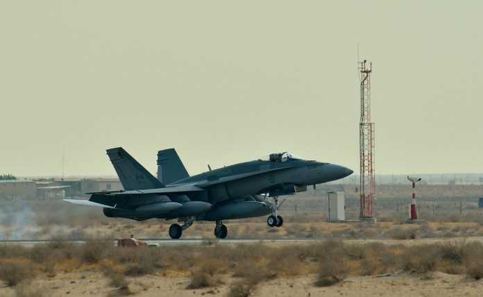 Canadian F-18 Fighter Jet