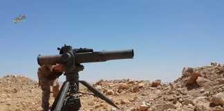 ToW missile, Syria