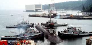 strategic missile submarine USS OHIO (SSBN 726)