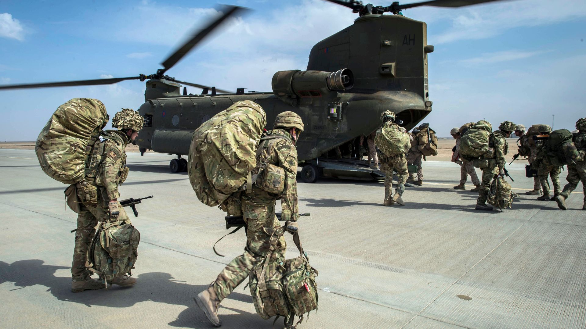 Construction begins in Bahrain of British army ...