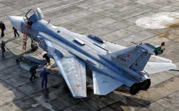 Russian Air Force Su-24