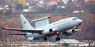 Boeing 737 AEW&C MESA Peace Eagle