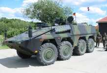 Boxer heavy wheeled vehicle