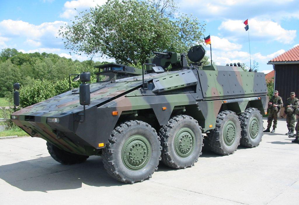 Boxer heavy wheeled vehicle