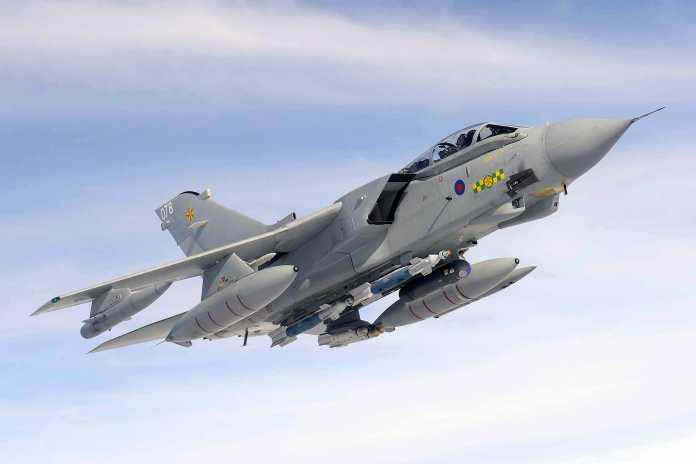 UK RAF 15 Squadron Tornado GR4