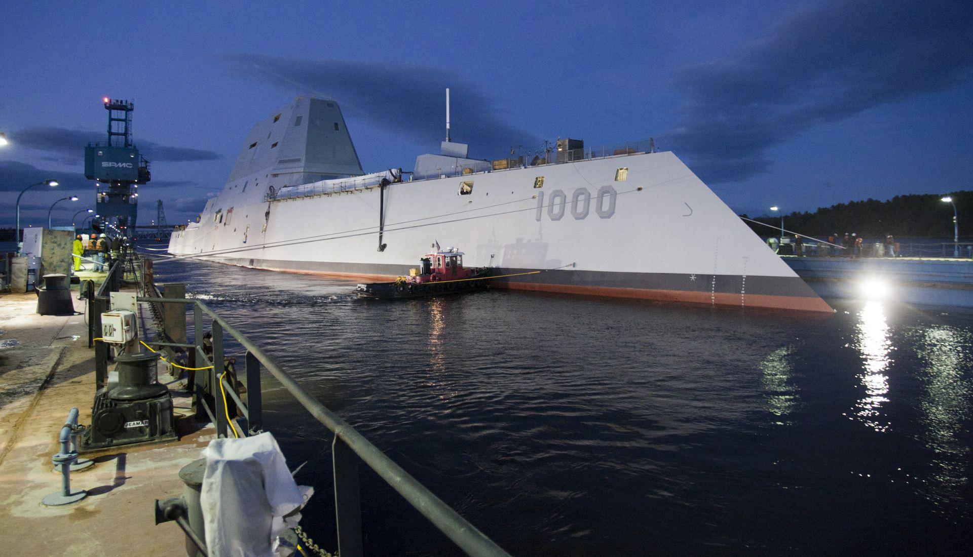Zumwalt-class guided-missile destroyer DDG 1000