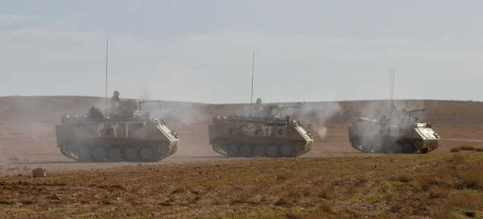 Jordanian Armed Forces M113 Armored Personnel Carriers