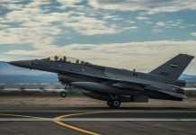 Iraq's F-16 Fighting Falcon aircraft