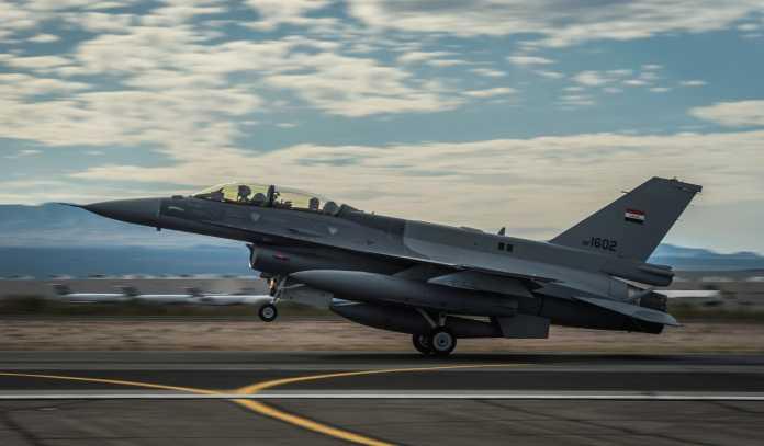 Iraq's F-16 Fighting Falcon aircraft