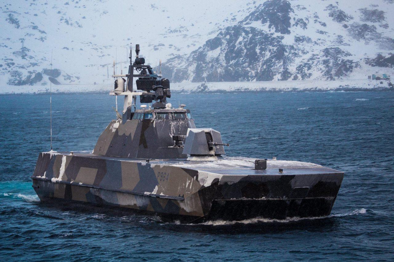 Skjold Class Missile Corvette At Defencetalk