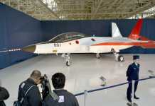X-2 fighter Jet