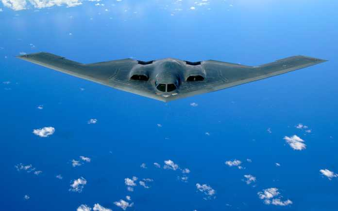 US Air Force B-2 stealth bomber