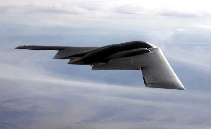 B-2 Spirit multi-role bomber
