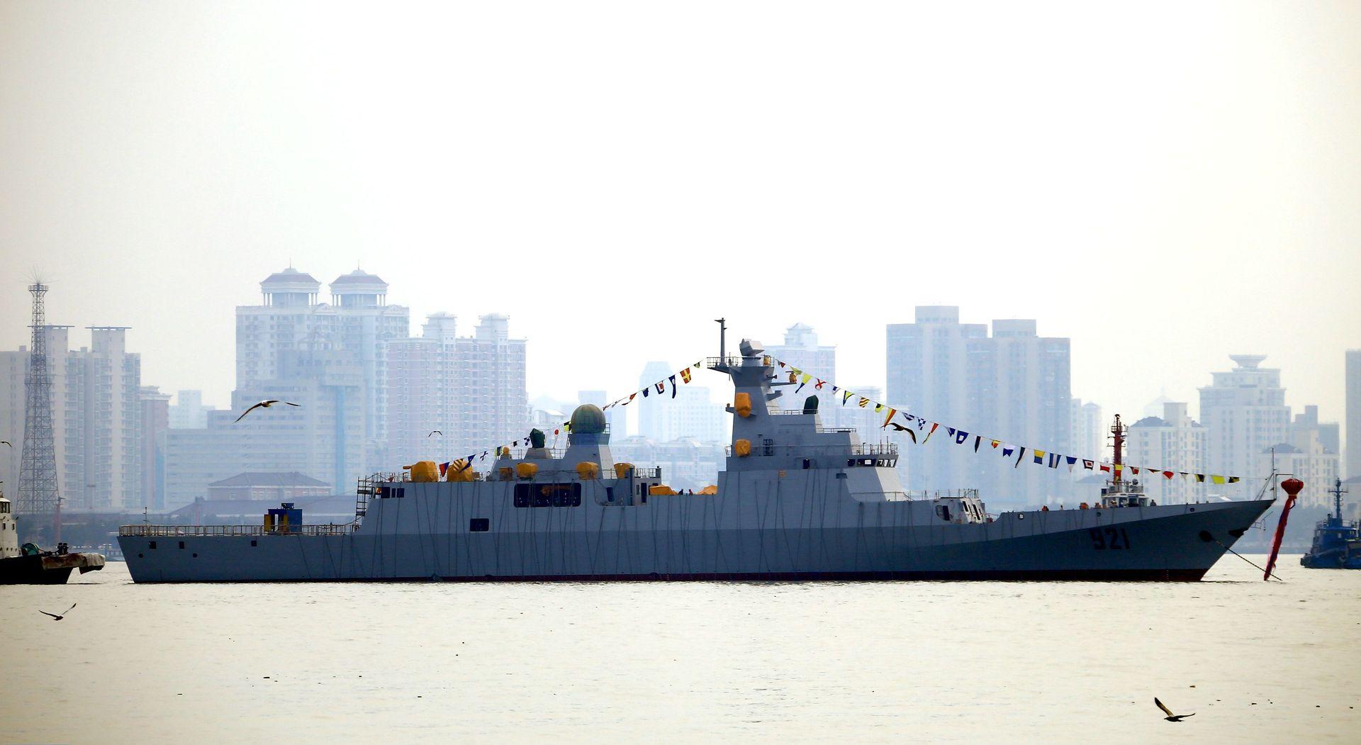 Algerian Navy corvette C28A